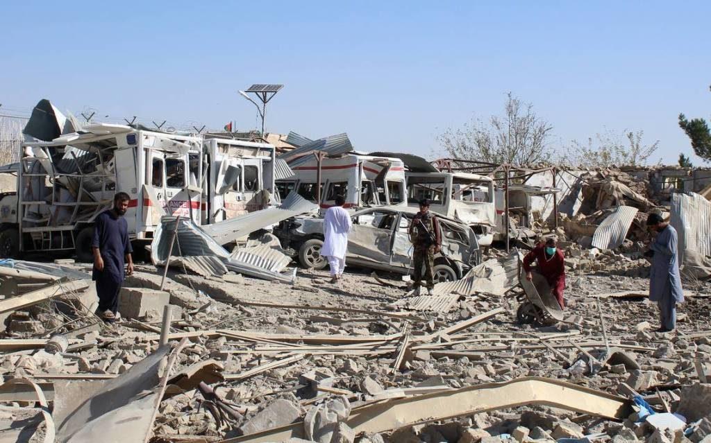 20 personas murieron en un ataque contra un hospital en Afganistán