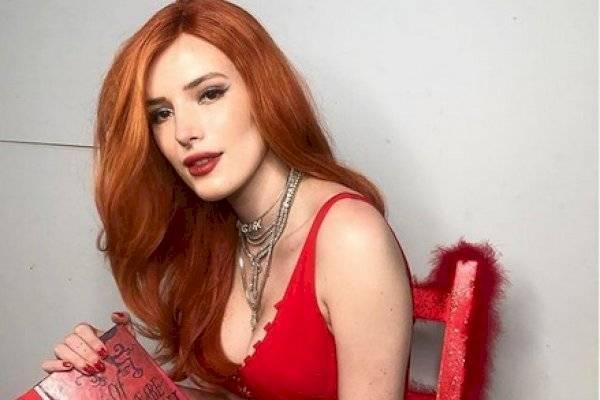 Bella Thorne en premios Pornhub