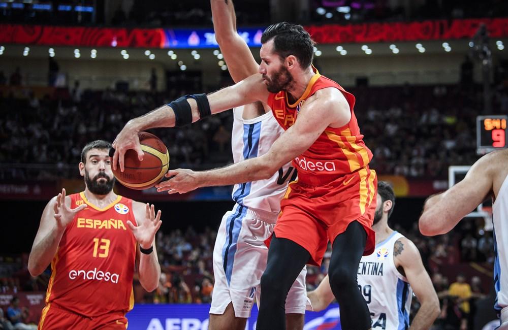 España venció a Argentina 95-75