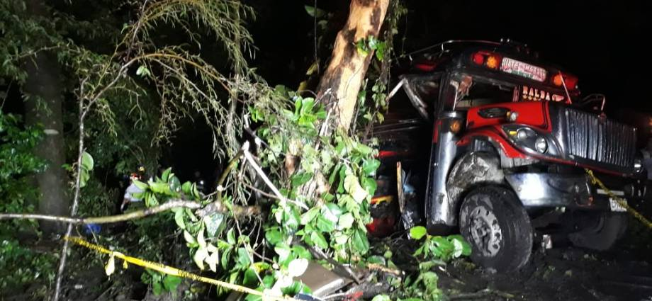Accidente en Guatemala