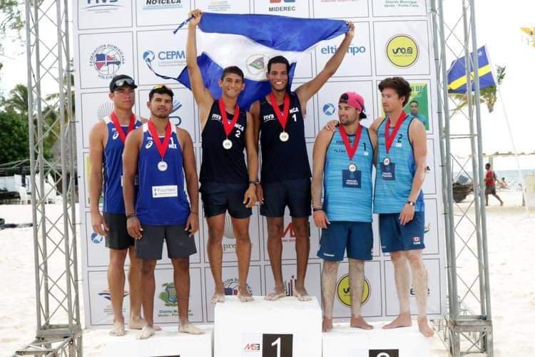 Nicaragua ganó medalla de oro en Voleibol Playa
