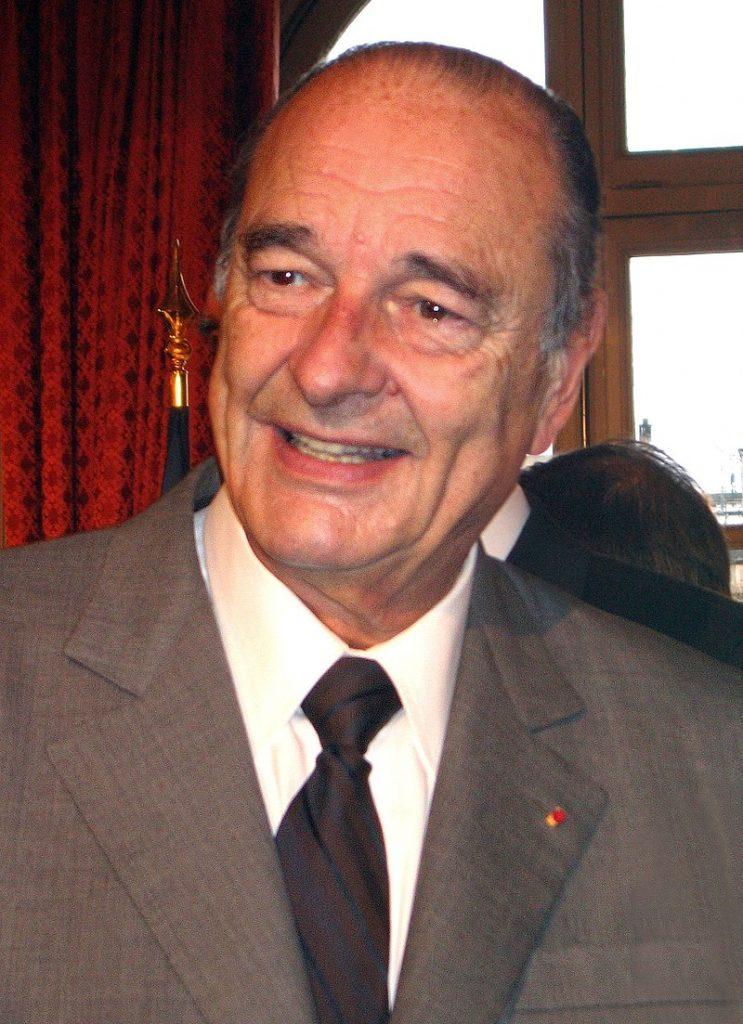 El presidente francés Jacques Chirac, foto del 2006