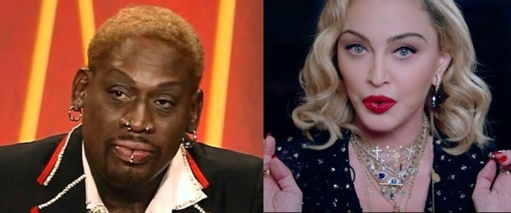 Dennis Rodman confiesa haber recibido propuestas indecorosas por parte de Madonna