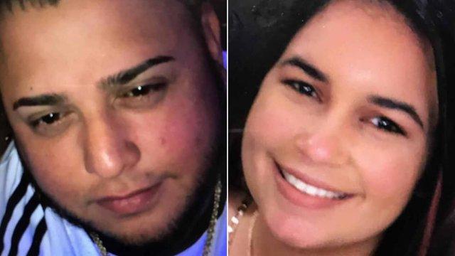 Nicole Merced Plaud y Anthony Valentin-Colon, los padres del niño