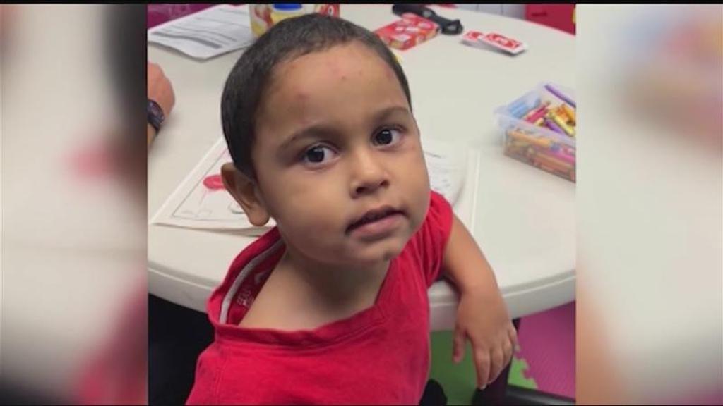 El niño Noelvin de 3 añitos fue abandonado en Buffalo