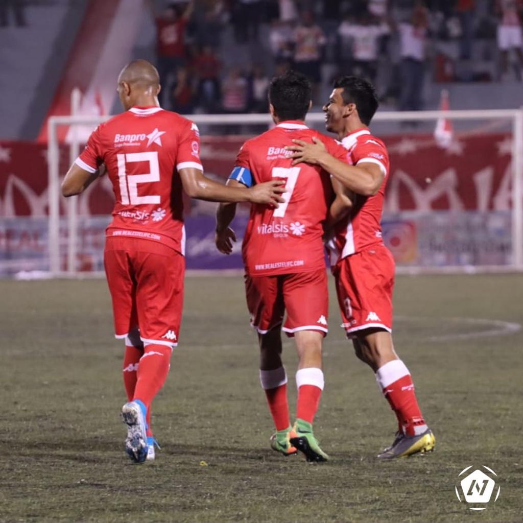 Real Estelí venció 3-1 al Diriangén. Foto cortesía Liga Primera
