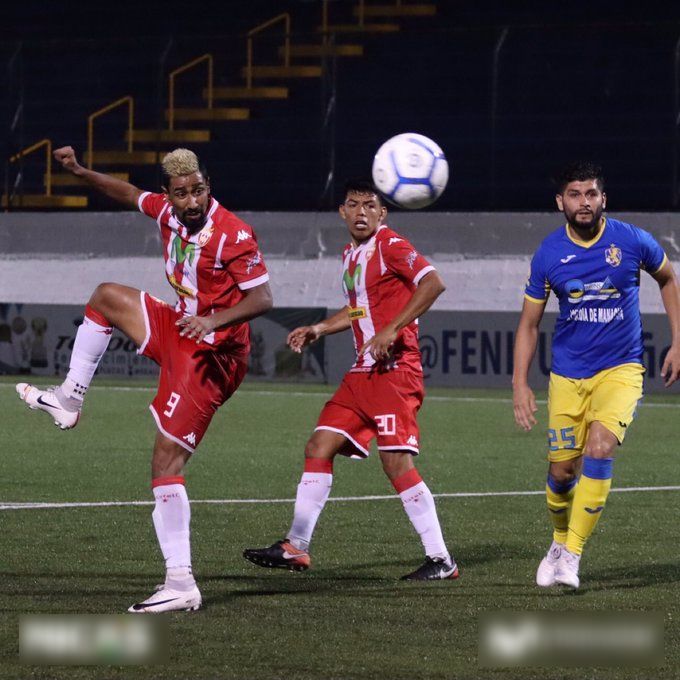 El Real Estelí venció 3-0 al Managua F.C. Foto cortesía de @realestelifc