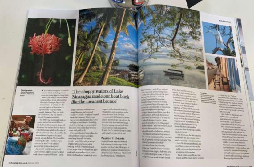 Revista Wanderlust Artículo sobre Nicaragua