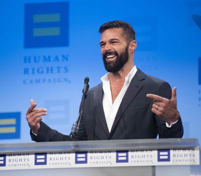 Ricky Martin anunció que está esperando su cuarto hijo