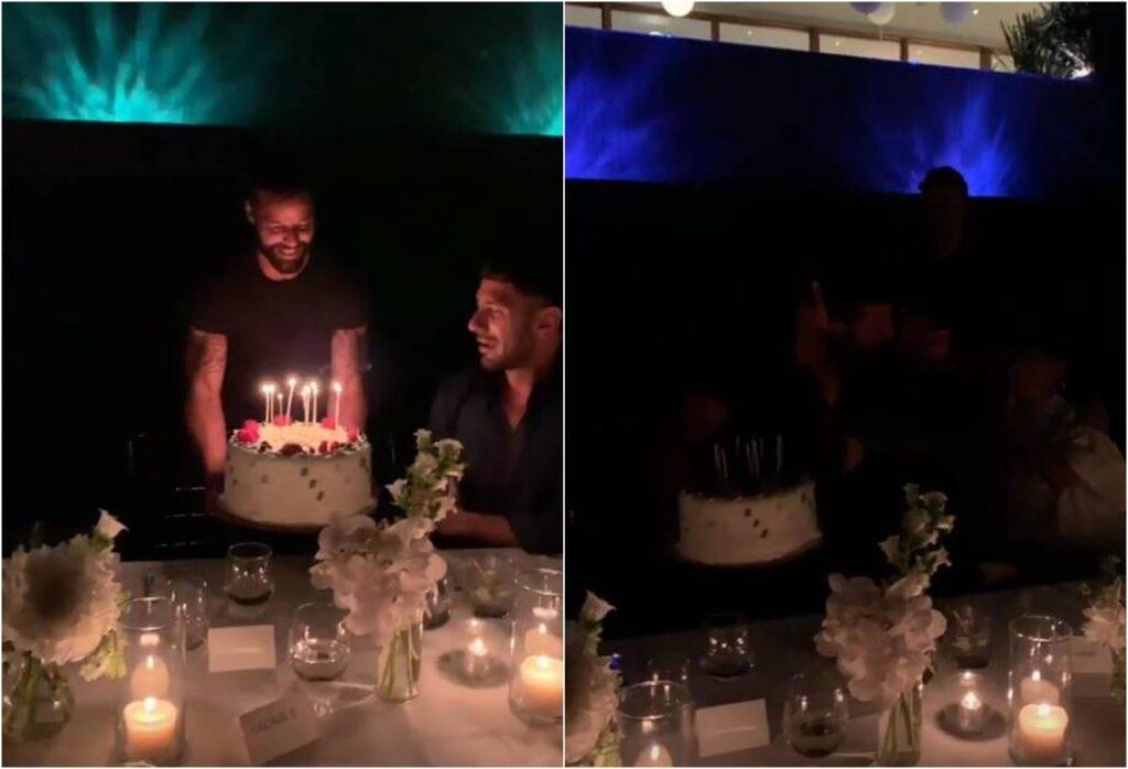 Ricky Martin celebra cumpleaños de Jwan