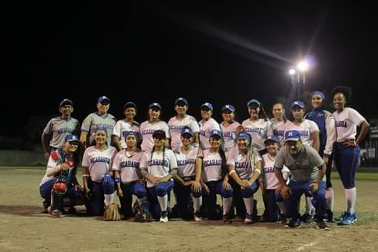 Seleccion Softbol Femenino de Nicaragua