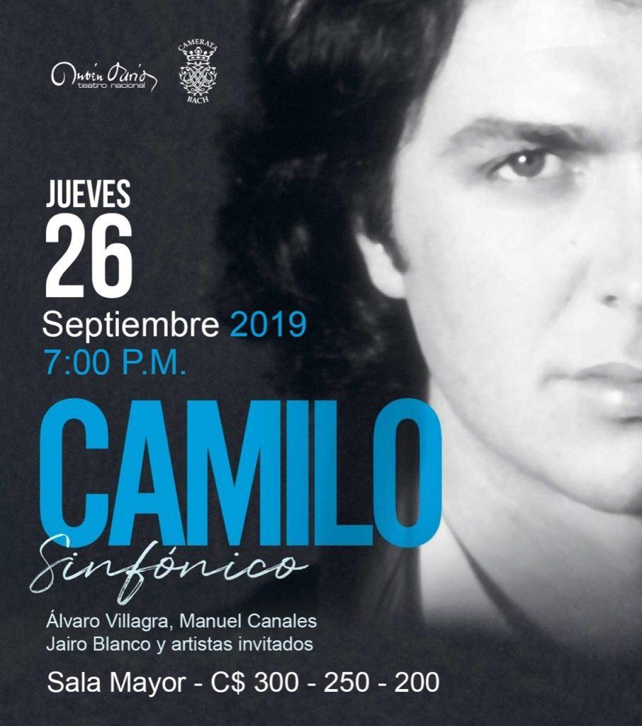 El Teatro Nacional Rubén Darío y la Camerata Bach presentan Homenaje a Camilo Sesto
