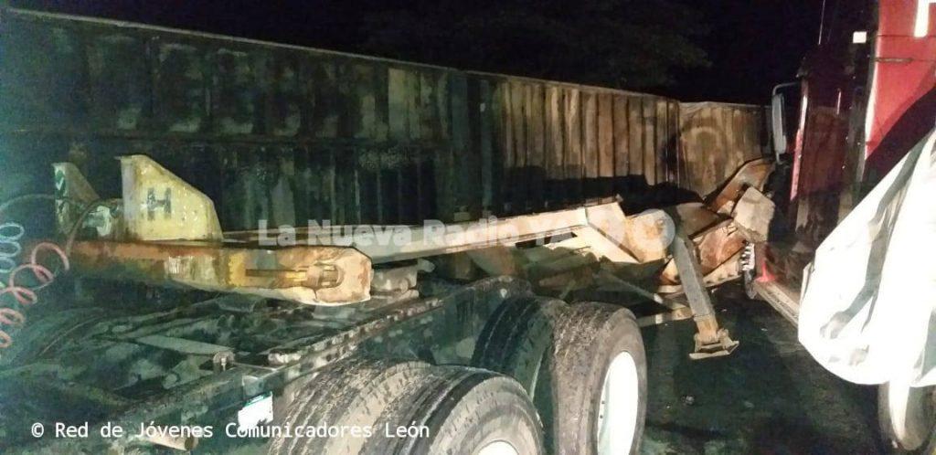 Vladimir José Blanco Avendaño murió tras ser aplastado por el container de un furgón. Foto Cortesía Red de Jóvenes Comunicadores de León