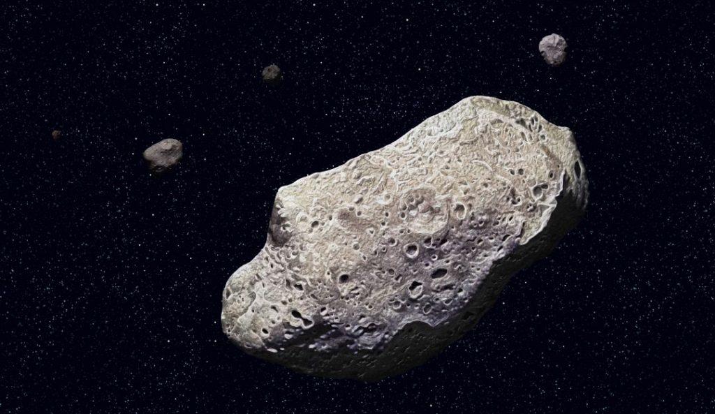 Ocho asteroides se acercarán a la Tierra en esta semana