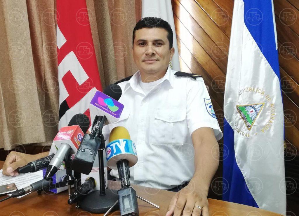 Capitán Miguel Ángel Ortez, segundo jefe de la Dirección de Fronteras