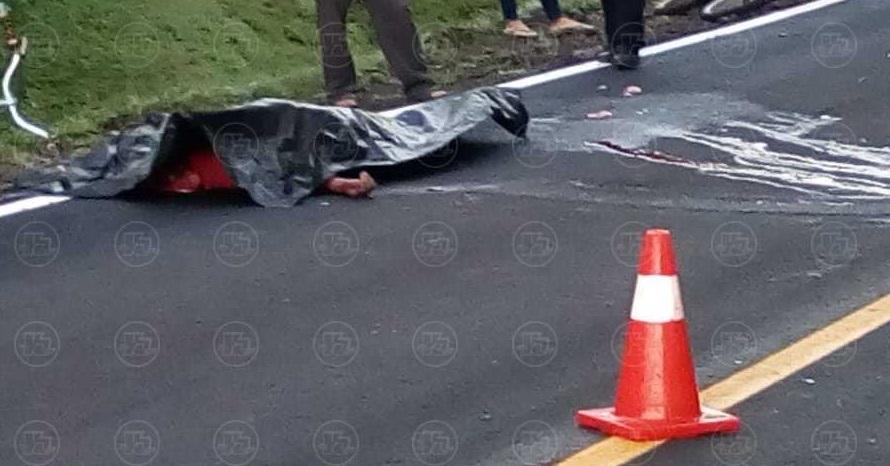 Ciclista fallecido en accidente