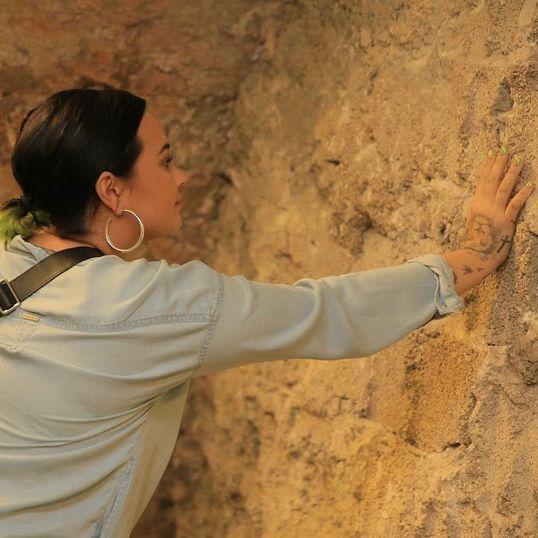 Demi Lovato viaja a Israel