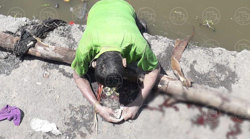 Desconocido ahogado en lago Xolotlán
