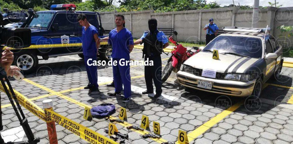 Detenidos en Granada