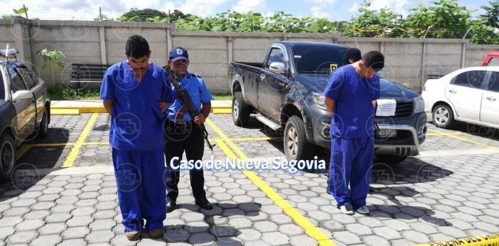 Detenidos en Nueva Segovia