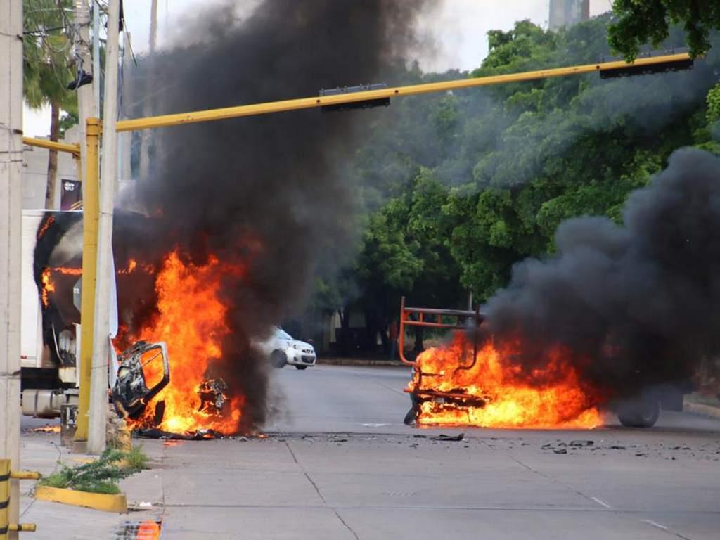 Enfrentamiento en Sinaloa