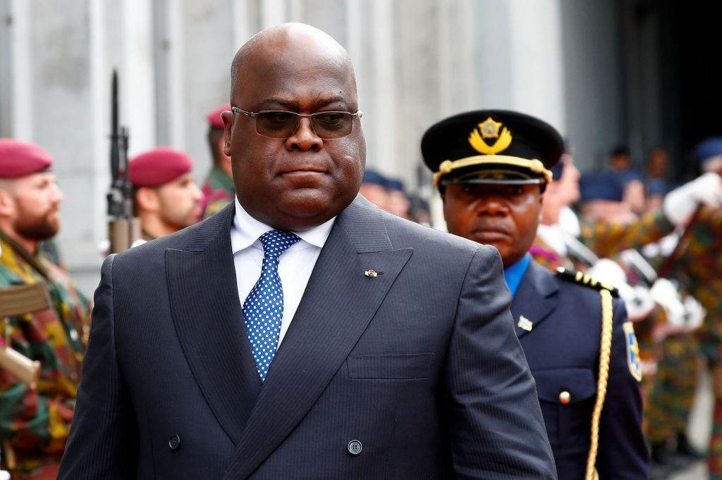 El presidente congoleño Felix Tshisekedi