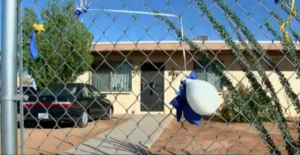 En esta vivienda un hombre mató a su hijo haciéndolo tragar agua hervida