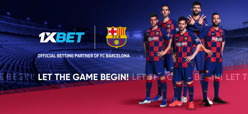 El FC Barcelona y 1XBET firmaron un acuerdo hasta el 2024