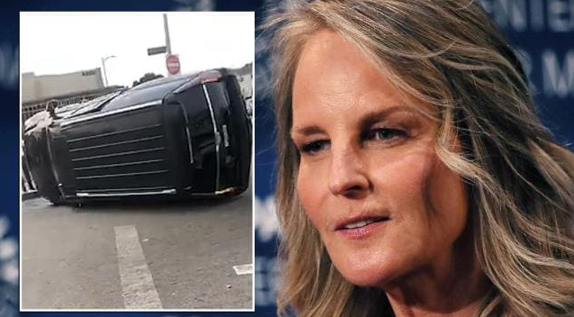 Helen Hunt se accidentó en Los Ángeles