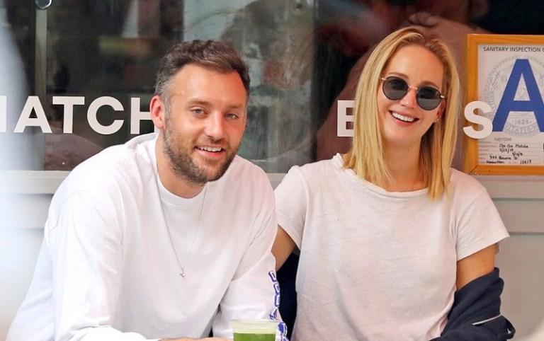 Jennifer Lawrence se casó con su novio