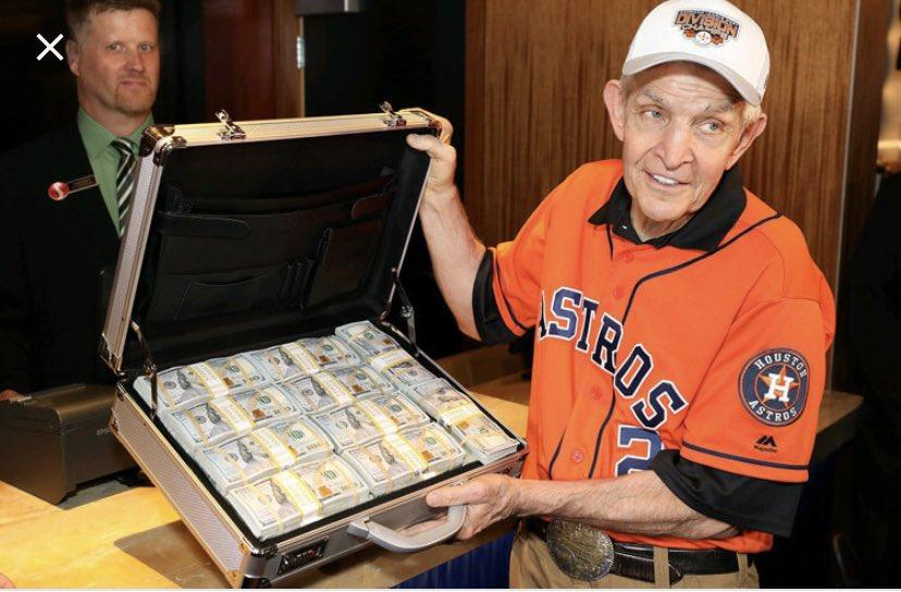 Jim McIngvale, apostó millones de dólares a los Astros de Houston
