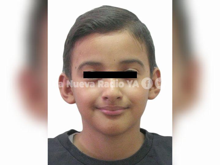 El niño José Adrian Molina Rivera había desaparecido al mediodía de hoy