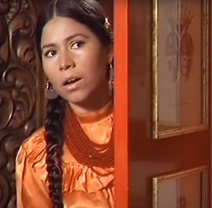 La famosa actriz mexicana La India María