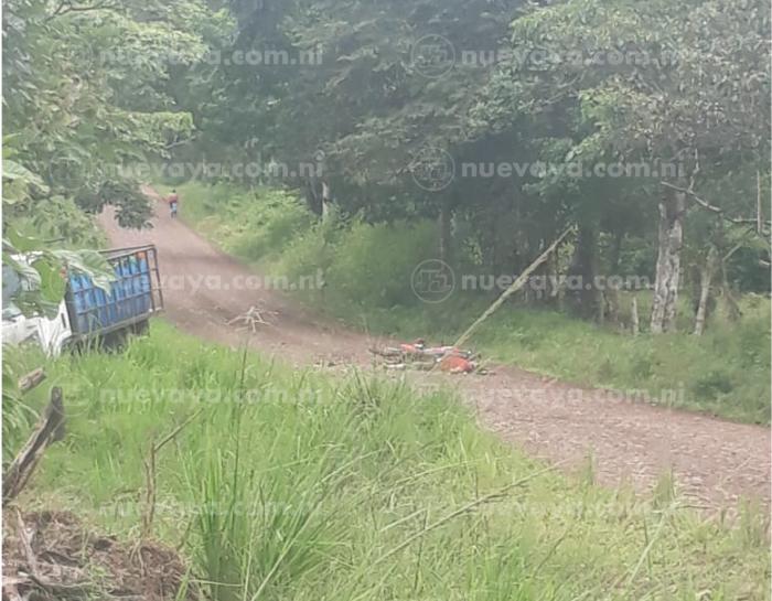 El motociclista perdió la vida enla comarca El Zapote, en Nueva Guinea