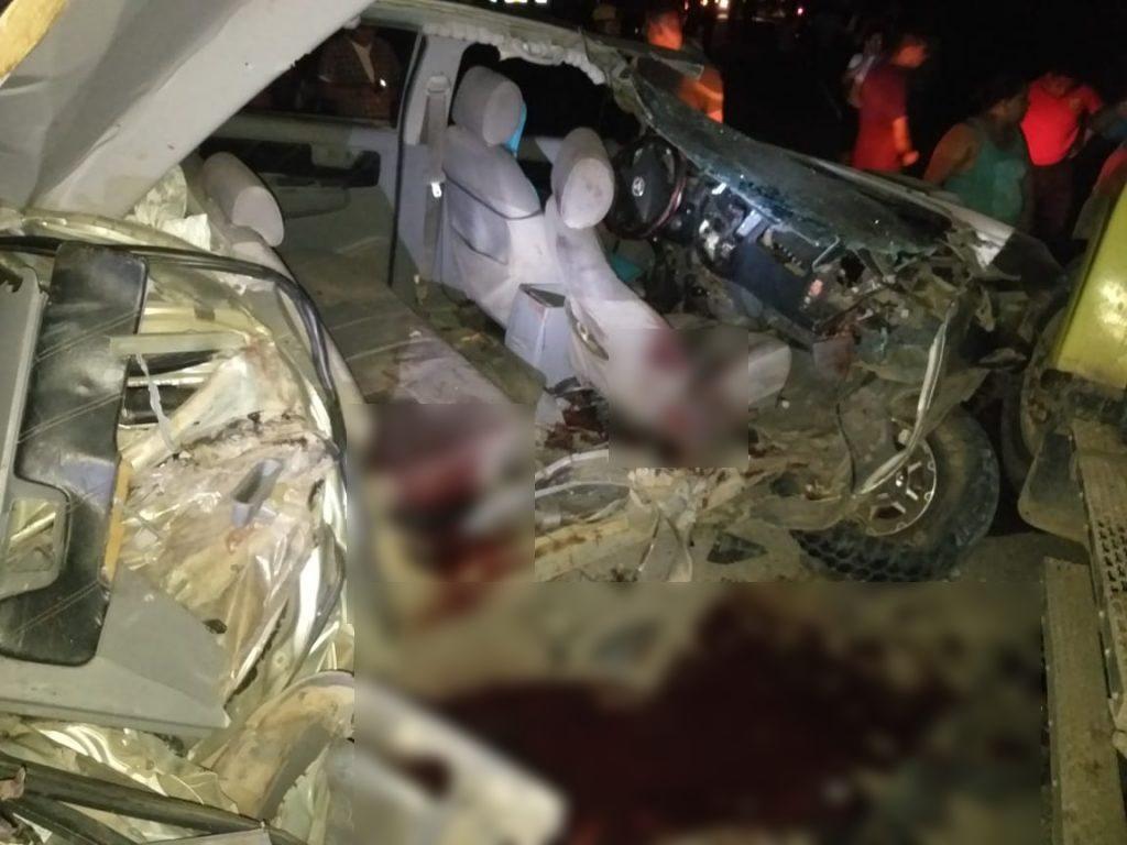 El aparatoso accidente ocurrió en el kilómetro 248 de la carretera a Mulukukú