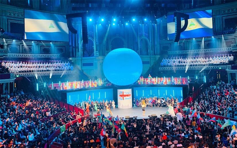 Nicaragua participó en el Foro mundial de la Juventud, en Londres