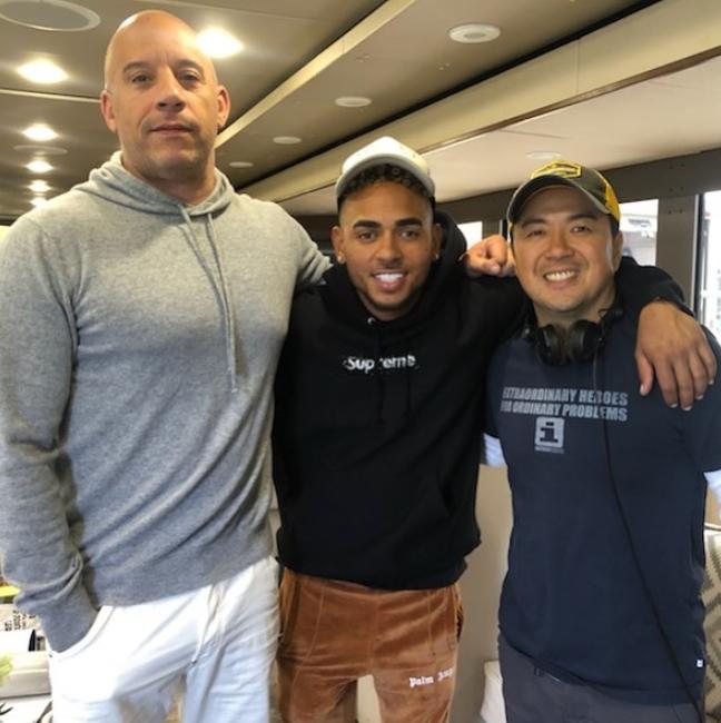 Vin Diesel anuncia participación de Ozuna en Rápidos y Furiosos 9