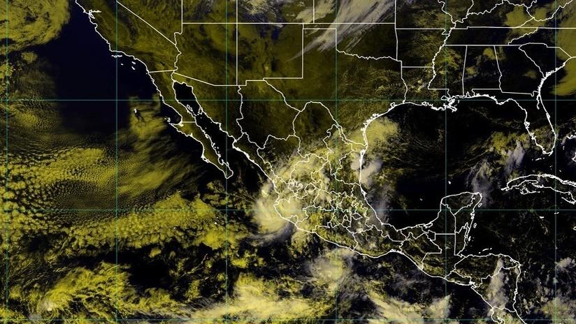 Tormenta tropical Priscilla llega a México