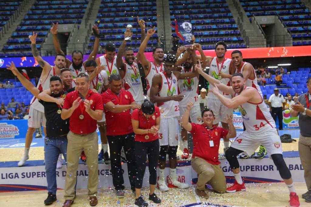 Real Estelí se corona en la Liga Superior de Baloncesto Nicaragüense
