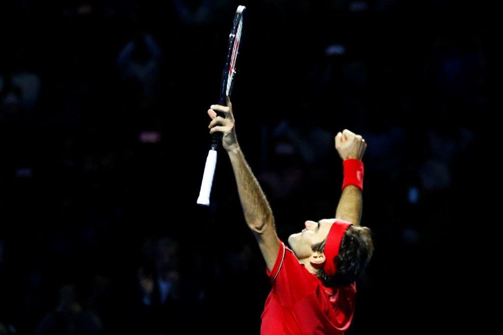 Roger Federer ganó la final del ATP de Basilea y se acerca a un nuevo récord