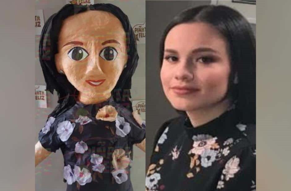 Crean piñatas de Sarita en señal de desprecio