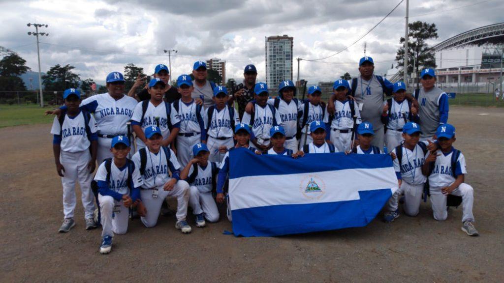 La selección de béisbol de Nicaragua sub 10