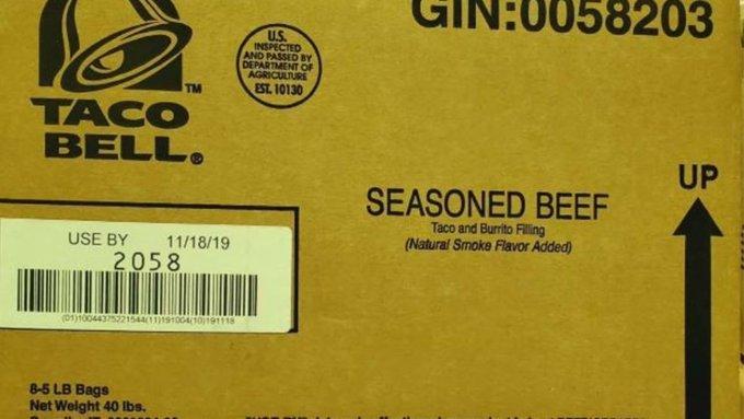 La carne contaminada fue enviada por un solo proveedor de Taco Bell