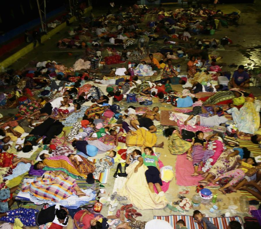 Terremoto al sur de Filipinas