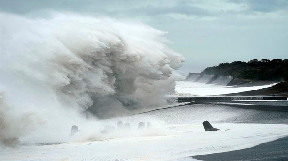Tifón Hagibis deja ya 2 muertos y 60 heridos en Japón