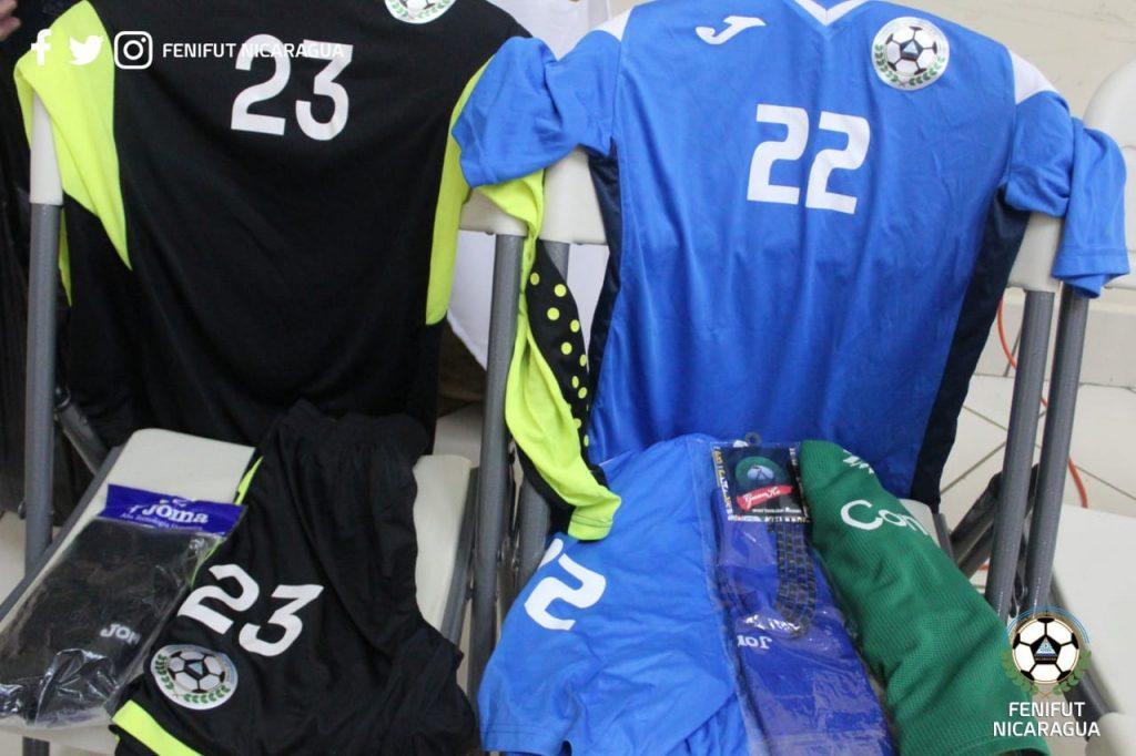 El uniforme de la Selección de Nicaragua
