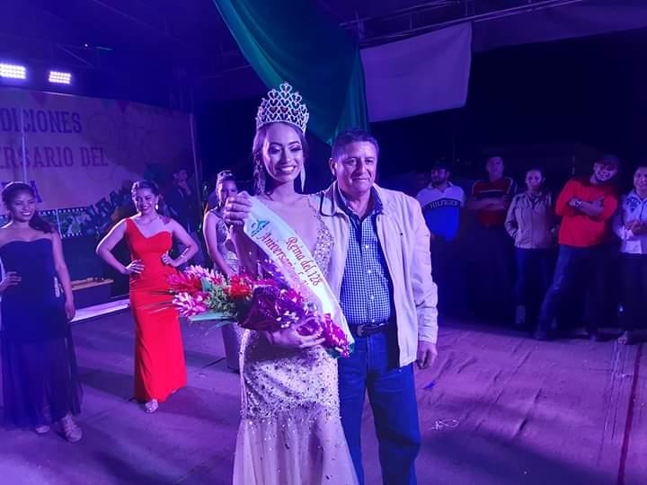 Irma Samanta Mendoza, Reina del 128 aniversario de Jinotega