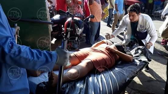 Heridos accidente en León