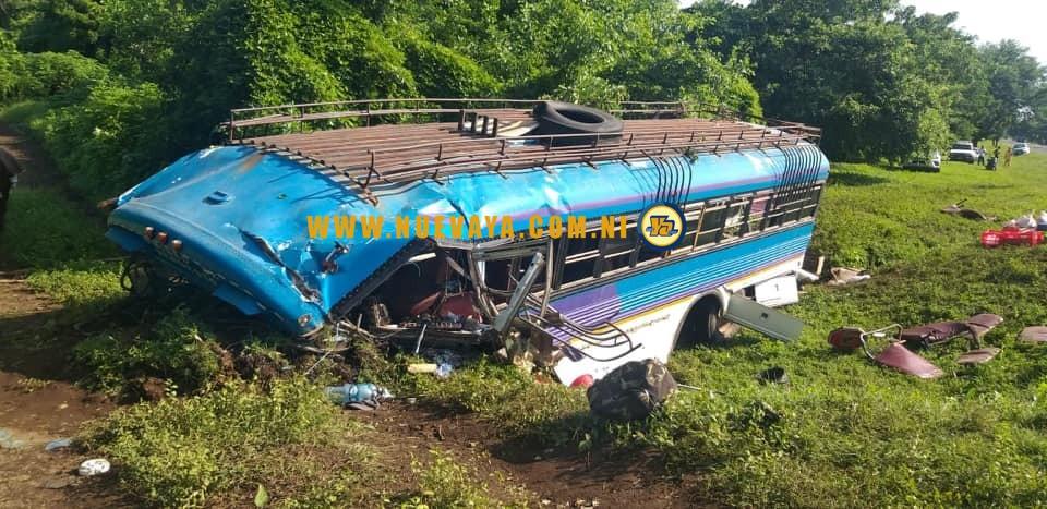 Accidente de bus en León