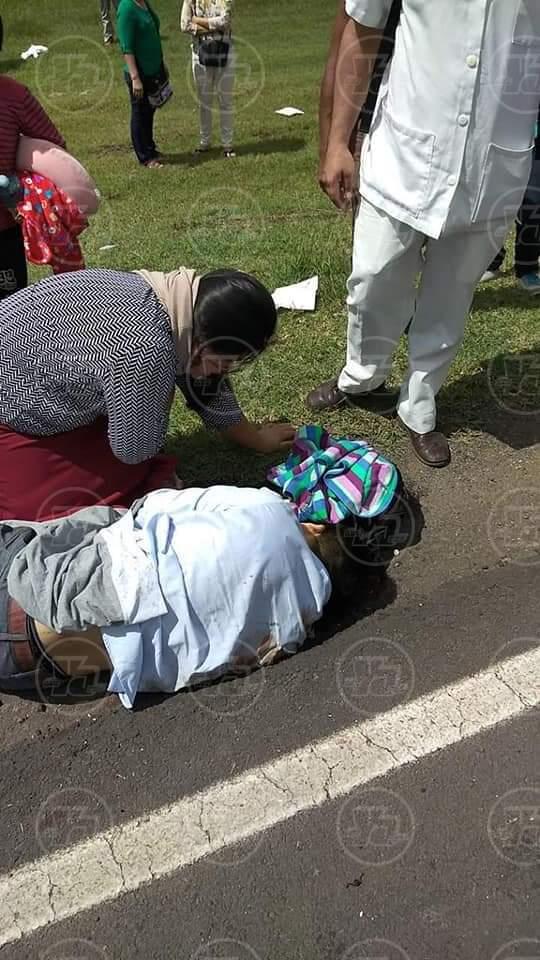 Accidente en carretera a Matagalpa
